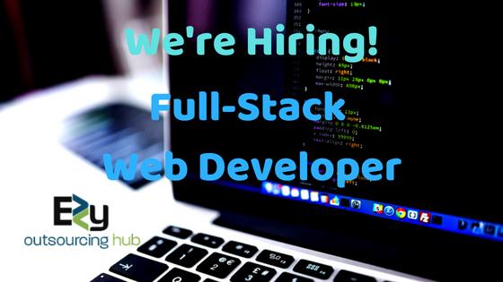 ezy outsourcing hub - Full Stack Website Developer