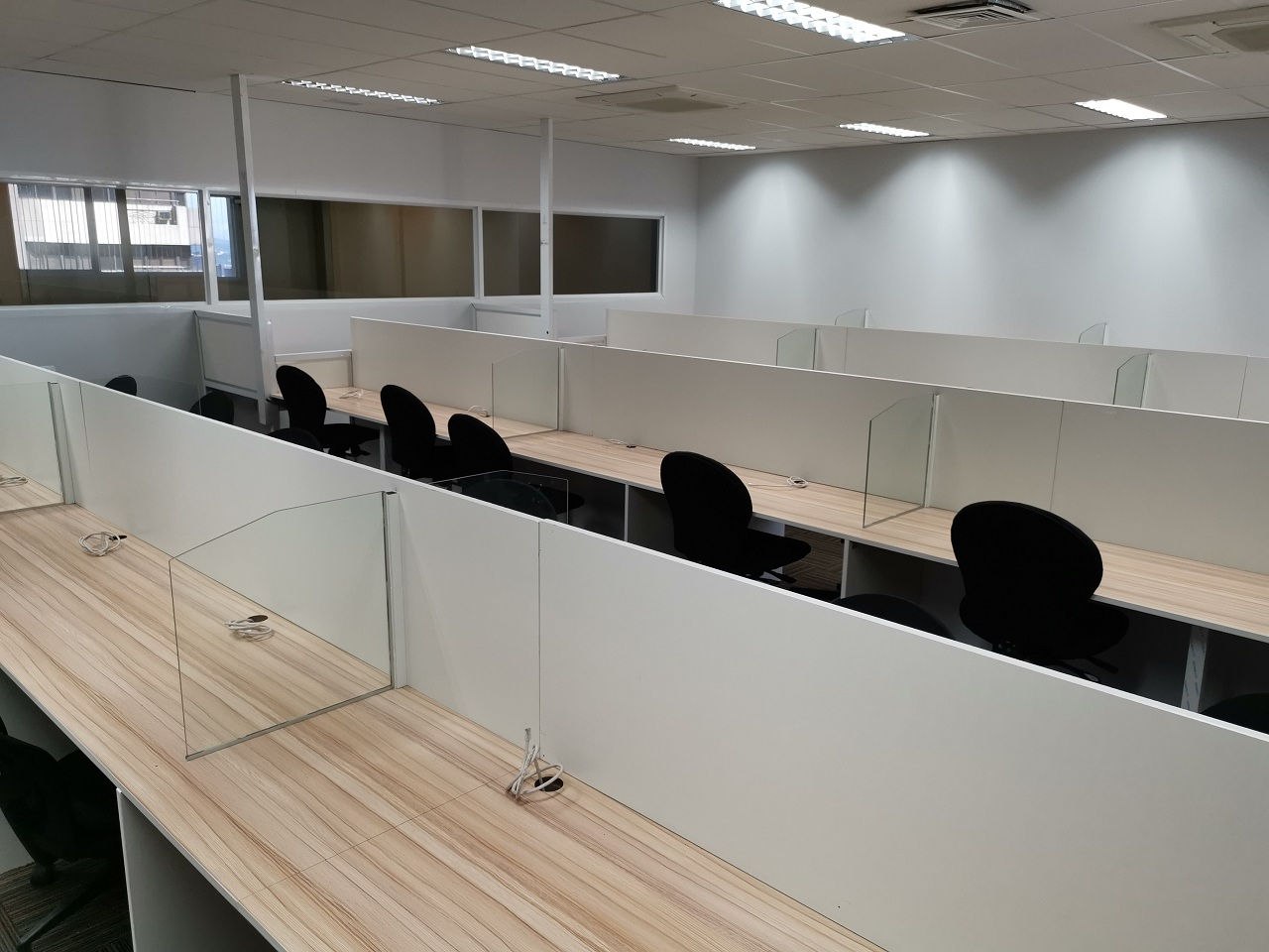 serviced office spaces