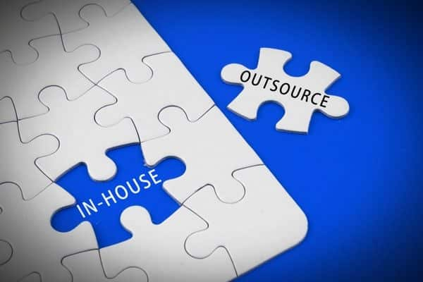 in-house manpower vs outsourced manpower